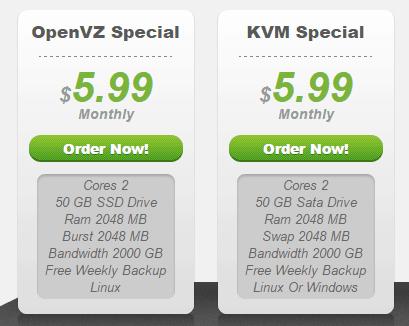 SkilledNerd VPS offers